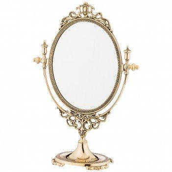 Зеркало настольное 27х37/20,5х16,5см