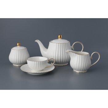 Чайный сервиз на 6 персон 15 пр.900/150 мл.