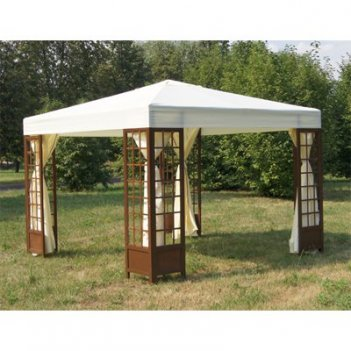 Шатер comfort garden gazebo slg 033 со стенками (кремовый)