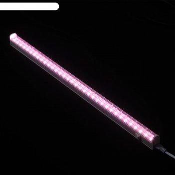 Светильник светодиодный для растений uniel, 18 вт, ip40, 560 мм, для фотос