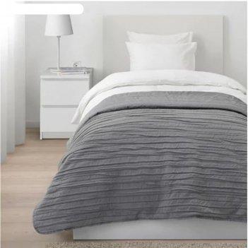 Покрывало векетог, размер 180х250 см, цвет серый