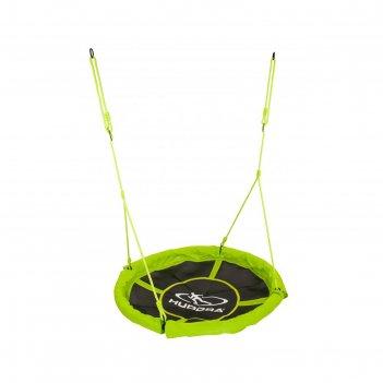 Качели-гнездо alu 110, цвет зеленый