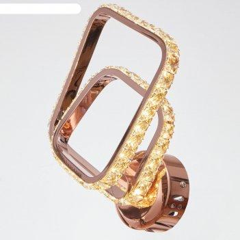 Бра 86016/1 led 24вт 3000к французкое золото 24х7х28 см