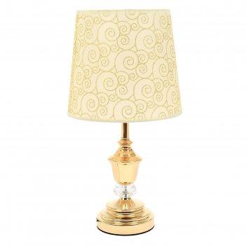 Лампа настольная е27 завитки 41х25х25 см