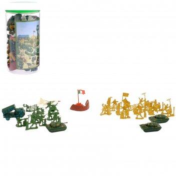 Набор солдатиков войско, 37 предметов
