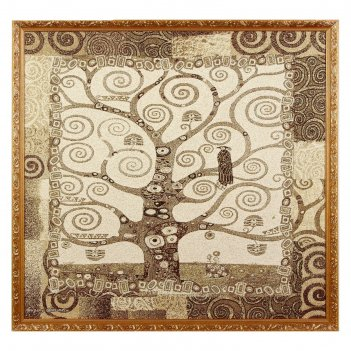 Гобеленовая картина древо жизни 70х70 см