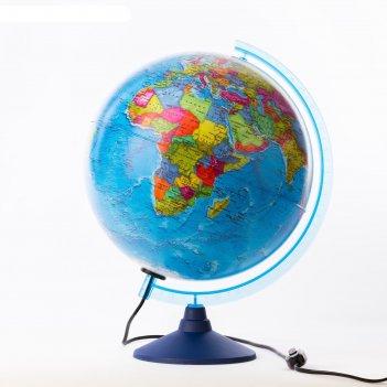 Глобус политический диаметр 320мм классик евро, с подсветкой