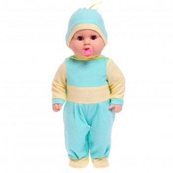 Кукла витенька с пустышкой 50 см 10-с-11