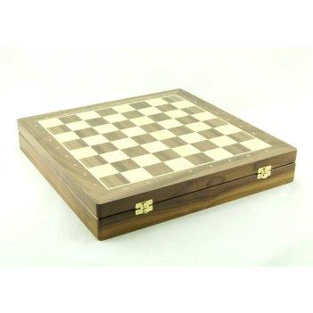 Шахматный ларец woodgames орех, 50мм