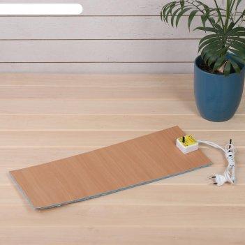 Электроподогревательный коврик для рассады, 48 x 20 см, 30 вт, с терморегу