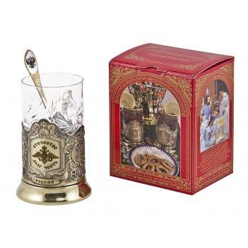 Набор для чая отечество (3 пр.) арт. пд-91к-л лг