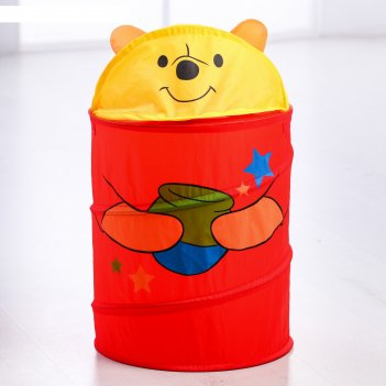 Корзина для игрушек мои игрушки медвежонок