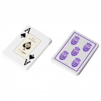 """Карты для покера """"fournier club monaco"""" 100% пластик, испания, ф"""