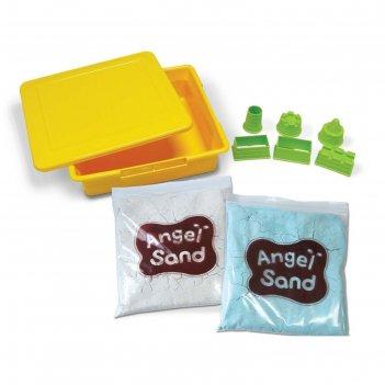 Игровой набор angel sand песочный замок , светится в темноте