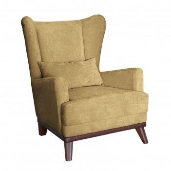 Кресло оскар, велюр песочный