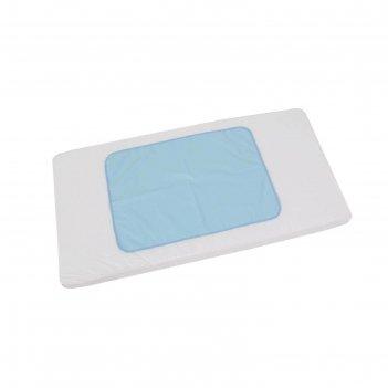 Пеленка-клеенка фея окантованная 48 х 68  см, голубая
