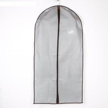 Чехол для одежды с пвх окном 120х60 см вилли