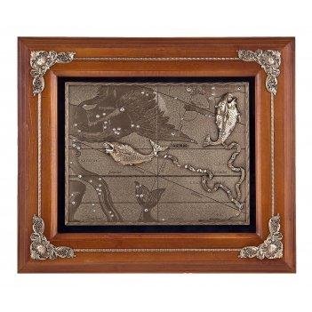 Панно рыбы арт. пгз-703 орех