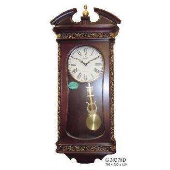 Настенные часы gastar g30378d (дерево)