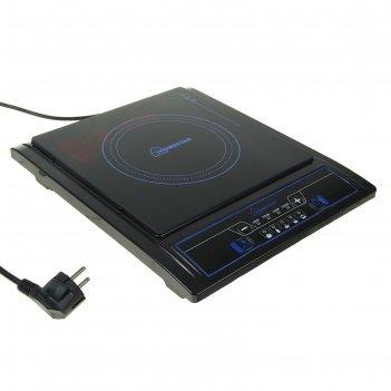 Плитка индукционная homestar hs-1101, 2000 вт, 5 режимов, черная