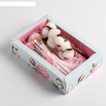 Подарочный набор с экодекором «прекрасных мгновений», 14 x 22 x 5 см
