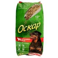 Сухой корм оскар для собак активных пород, 13 кг