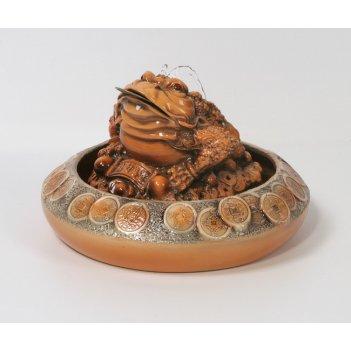 Настольный фонтан «денежная жаба»