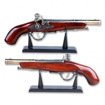 Декоративное изделие пистолет, h39,5 см