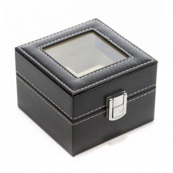 Шкатулка для хранения часов calvani 11*11*8см
