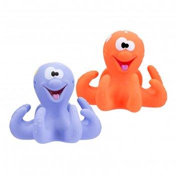 Игрушка для ванны «весёлый осьминог», цвета микс
