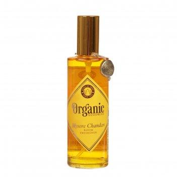 Освежитель воздуха organic спрей 100 мл mysore sandal