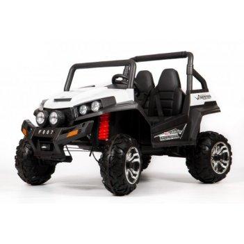 Электромобиль barty buggy (f007) белый 4х4 (полный привод)
