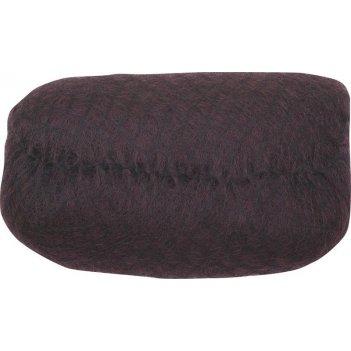Валик ho-pc dark brown  для прически, искусственный волос + сетка, темно-к