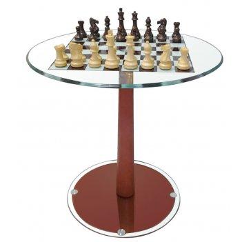 стол шахматный с фигурами d 54 см