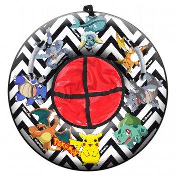Санки надувные тюбинг rt pokemon raichu, диаметр 87 см