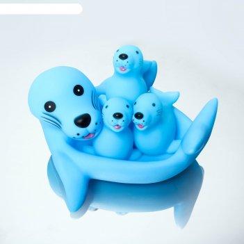 Набор игрушек для ванной, 4 шт., цвета микс