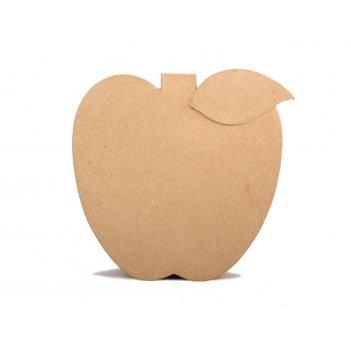 Коробочка в форме яблока из папье-маше, 25,5 х 25,5 х 10 см