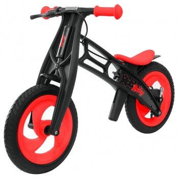 Велобалансир+беговел hobby-bike rt fly в черная оса plastic red/black в-ши