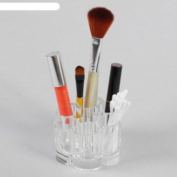 Органайзер для косметических принадлежностей, 7 секций, цвет прозрачный
