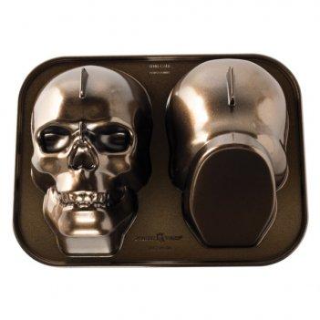 Форма для выпечки nordic ware призрачный череп