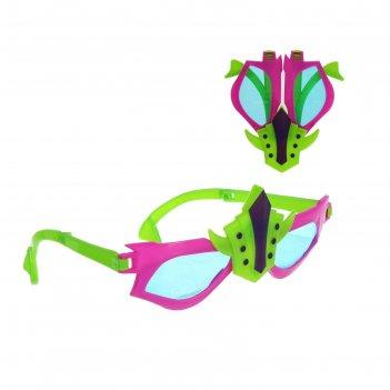 Карнавальные очки робот, цвета микс