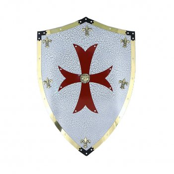 Щит рыцарский - декоративный крестоносцы