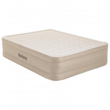 Кровать надувная queen, 203 x 152 x 46 см, со встроенным электронасосом, 6