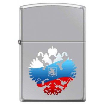 Зажигалка двуглавый орёл zippo 250 russian coat of arms