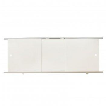 Экран под ванну премиум а, 148 см, цвет белый