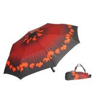 Зонт 23, полный автомат (красные маки)