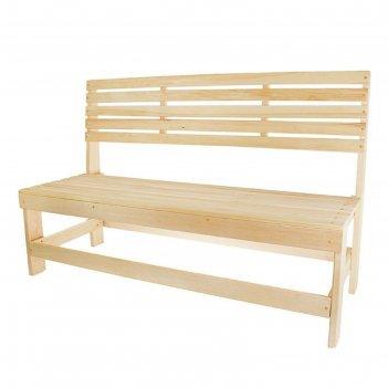 Скамейка без подлокотников 120х50х90 см