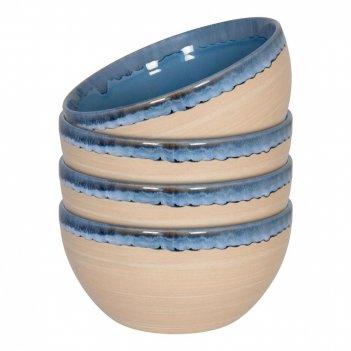 Waechtersbach набор из 4 мисок голубой песок