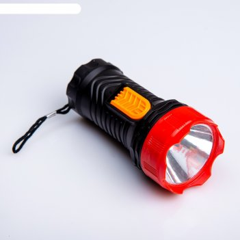 Фонарик ручной, 1 led, 1 режим, микс, 5х11 см