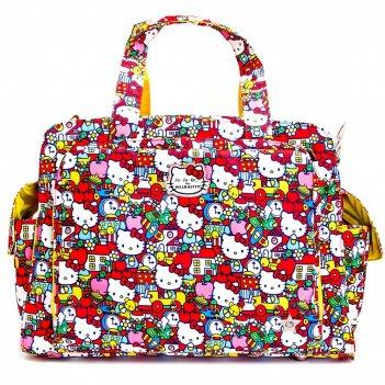 Дорожная сумка или сумка для двойни ju-ju-be be prepared hello kitty tick